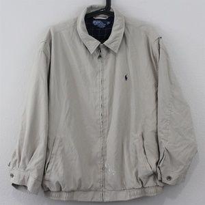 Polo Ralph Lauren Mens XL Coach Jacket M225